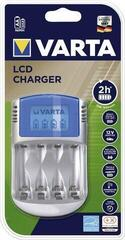 Varta LCD Charger 57070 + 12V & USB Adapter