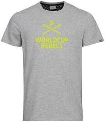 Head Race T-Shirt Men Grey Melange