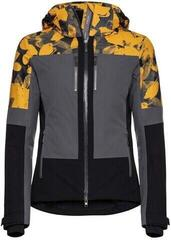 Head Pulse Jacket Women Anthracite/Pop Art Flower Yell