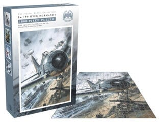 Bellica Fw 190 Over Normandy (1000 Piece Jigsaw Puzzle)