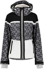 Luhta Enbolstad Womens Ski Jacket Black/White