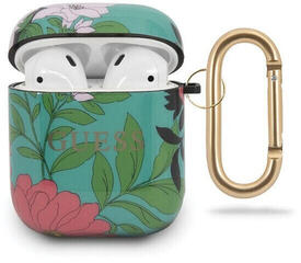 Guess AirPods Case N.1 Flower Collection Green