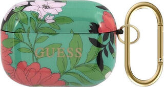 Guess AirPods Pro Case N.1 Flower Collection Green
