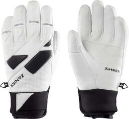 Zanier Speed Pro.Td Ski Gloves White/Black 10