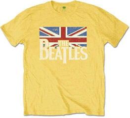 The Beatles Logo & Vintage Flag Kids T-Shirt Yellow (7 - 8 Years)