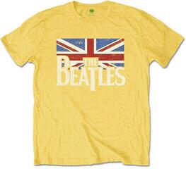 The Beatles The Beatles Logo & Vintage Flag Kids T-Shirt Yellow Yellow