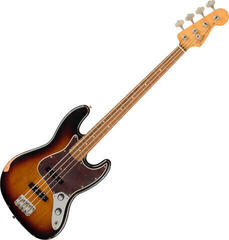 Fender 60th Anniversary Road Worn Jazz Bass 3-Color Sunburst