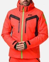 Rossignol Aeration Mens Ski Jacket Neon Red