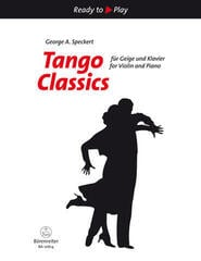 George A. Speckert Tango Classic for Violin and Piano Nuty