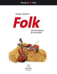 George A. Speckert Folk for 2 Violins Nuty