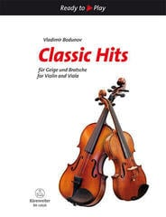 Vladimir Bodunov Classic Hits for Violin and Viola Music Book