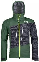 Ortovox 3L Guardian Shell Mens Jacket Green Forest