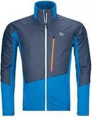 Ortovox Westalpen Swisswool Mens Hybrid Jacket Safety Blue