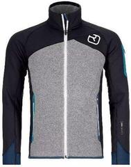 Ortovox Fleece Plus Mens Jacket Black Raven