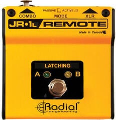 Radial JR1-L Latching Remote Pedală un canal