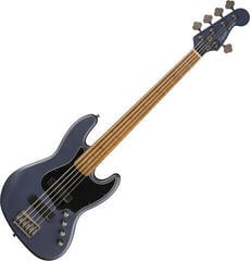 Fender Squier FSR Contemporary Active Jazz Bass HH V Midnight Satin