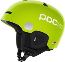 POC POCito Auric Cut SPIN Fluorescent Lime Green