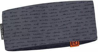 Ortovox 120 Tec Print Headband Black Steel