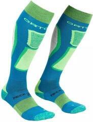 Ortovox Ski Rock'N'Wool Mens Socks Blue Sea