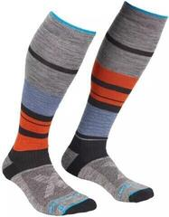 Ortovox All Mountain Mens Long Socks Warm Multicolour