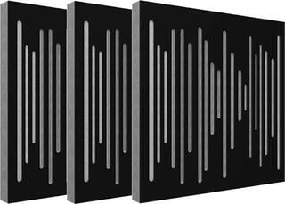Vicoustic Wavewood Diffuser Ultra Black Matte