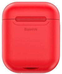 Baseus Silicone Case for AirPods Red with Wireless Charging Function