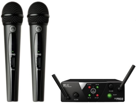 AKG WMS40 Mini2 Vocal Dual US45A/C