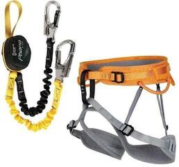 Singing Rock Packet Ferrata Ray Set  Palm Lock
