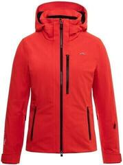 Kjus Evolve Womens Ski Jacket Fiery Red
