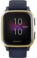 Garmin VENU SQ Music Navy/Light Gold