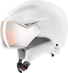 UVEX Hlmt 600 Visor All White 55-57 cm 20/21