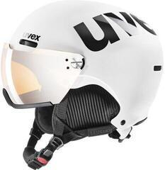 UVEX Hlmt 500 Visor White/Black Mat 55-59 cm 20/21