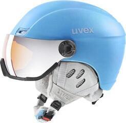 UVEX Hlmt 400 Visor Style Cloudy Blue Mat 53-58 cm 20/21