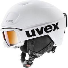 UVEX Heyya Pro Set (Flizz LG White) White Black Mat 54-58 cm 20/21