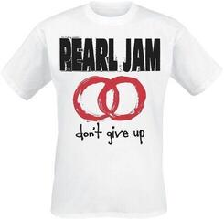 Pearl Jam Unisex Tee Don't Give Up White XL