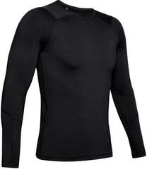 Under Armour HeatGear Rush Compression Long Sleeve Shirt Black