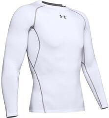 Under Armour HeatGear Armour Long Sleeve Compression Shirt White