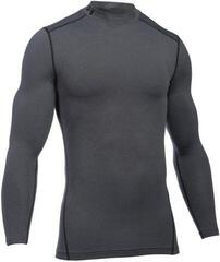 Under Armour ColdGear Armour Mock Compression Shirt Grey