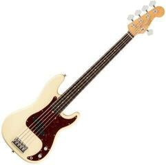 Fender American Professional II Precision Bass V RW Olympic White