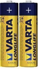 Varta Longlife AA Mignon LR06 Alkaline 2 Pack