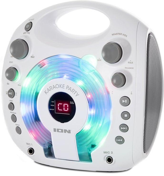 ION Karaoke Party Karaoke systém Biela