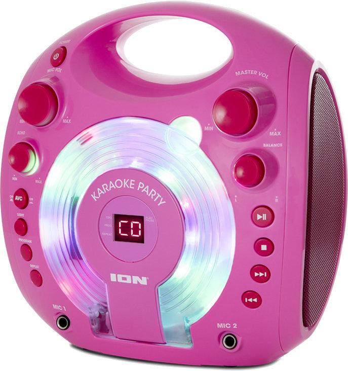 ION Karaoke Party Karaoke systém Ružová