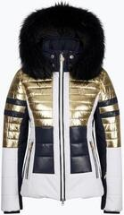 Sportalm King Metallic Womens Ski Jacket Gold