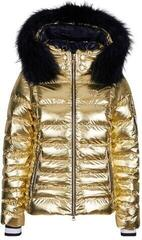 Sportalm Kyla Metallic Womens Ski Jacket Gold