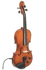 Stentor E-Violin 4/4 Student II, Artec Piezo Pickup 4/4 Electric Violin