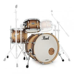 Pearl MCT943XEP Masters Complete Satin Natural Burst