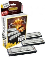 Hohner Hot Metal 572/20 Pack Diatonická ústní harmonika