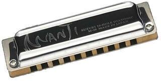 Suzuki Music Manji 10H F Diatonična ustna harmonika