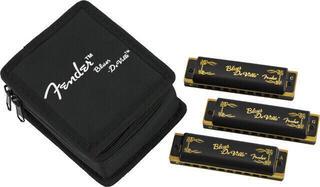 Fender Blues DeVille 3 Pack Diatonikus szájharmonika