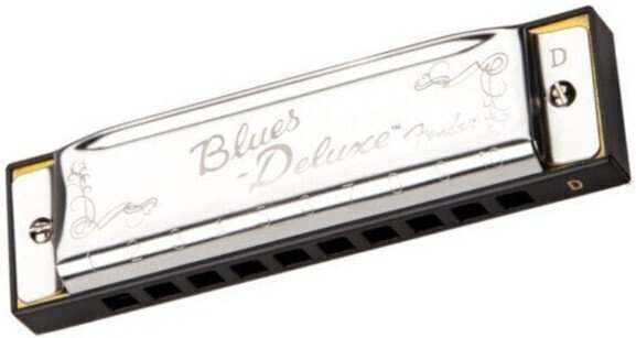 Fender Blues Deluxe Harmonica D-Key